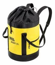 Fabric Plain Petzl Bucket Bag