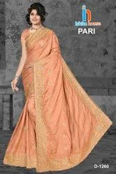 Fancy Butti Work Saree