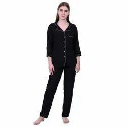 Black Female Women Pajama Set