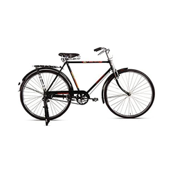 Black HOBO Phillip Ballon Bicycle, Size: 28 Inch, Handle Bar: Chrome Finished