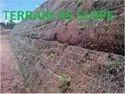 Metallic Mesh Rock Slope