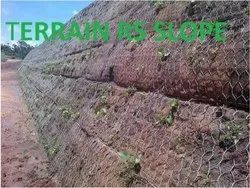 Metallic Mesh Rock Slope