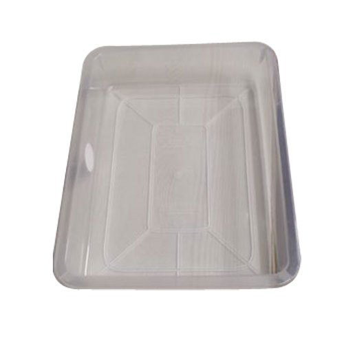 Rectangular Plastic Serving Tray, Packaging Type: Packet