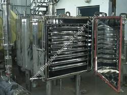 Vacuum Powder Tray Dryer