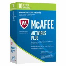 McAfee AntiVirus Plus 2017box pack ( 1 year )