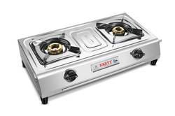 Double Burner Gas Stove SU 2B-218 Deluxe