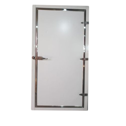 Steel Frame Cold Storage Door, Size/Dimension: 3.5x10 Feet, Rs 14000 ...