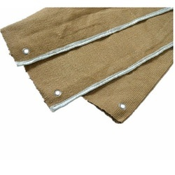 Vermiculite Coating Ceramic Fiber Cloth