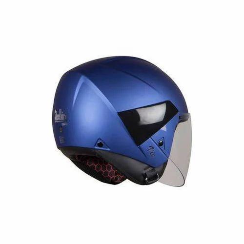 b300a87c Abs Plastic Steelbird HIGN Vic Blue Helmet, Rs 1439 /piece | ID ...