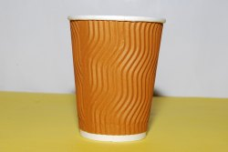 Ripple Wall Paper Cup 250 mL Size