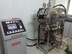 Cylindrical Laboratory Horizontal Autoclave
