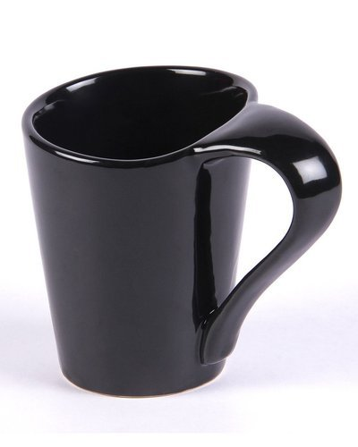 Ceramic Black Teacoffee Cupsmugs Set Of 6 At Rs 280 Set