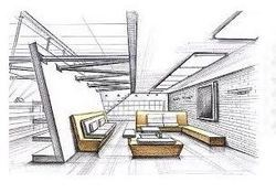 Interior Design Office Sketches office interiors , office interior designers in bengaluru