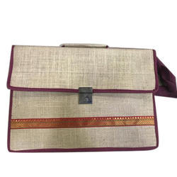 Plain Jute Handicraft Handbag