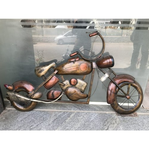 Metal Bike Wall Mural