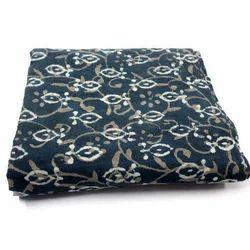 Indigo Dabu Printed Fabric