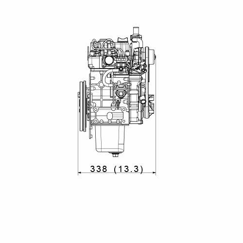 Kubota Z482-E3B 53 Kg Engine | Kubota Agricultural Machinery