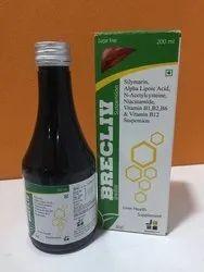 Silymarin, Alpha Lipoic Acid, N-Acetylcysteine, Niacinamide, Vitamin B1, B2, B6, B12 Suspension