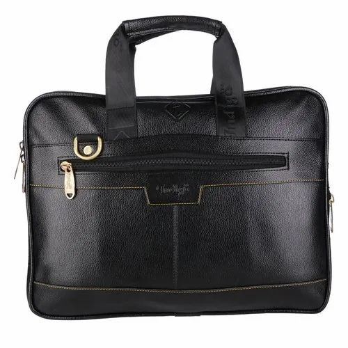Faux Leather Laptop Briefcase Size 18