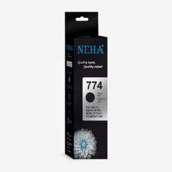 Black Neha T774 Epson Ink, Plastic Bottle