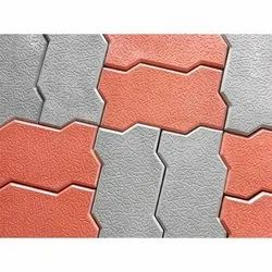 Zig Zag Interlocking Paver Block
