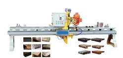 Granite Edge Moulding, Polishing and Half & Full Noshing Machine