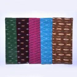 hand woven,hand printed Multicolor Cotton Fabrics
