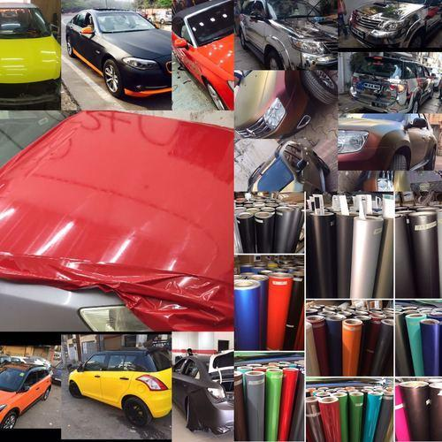 Matt Metallic Car Wrap Vinyl Roll At Rs 33 Sqft Vinyl Vehicle