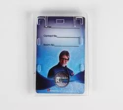 Translucent Plastic Enclosed PC Card Holder