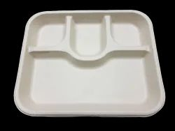 4 CP Tray In Bagasse
