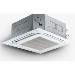 White MS, Plastic Lloyd Cassette Air Conditioner, R 22, 4 Way Air Flow Type