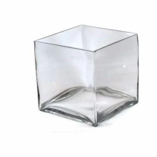 225 & Square Glass Vase
