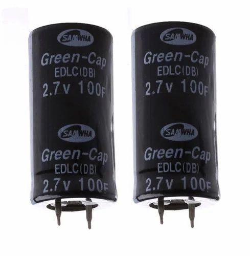 Super Capacitor 2  7v100f Ultra Capacitor Farad Capacitor 2  7v 100f New