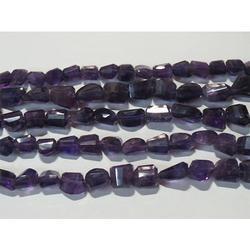 Amethyst Faceted Gemstone Beads