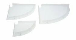 Unbreakable Acrylic Corner Shelf
