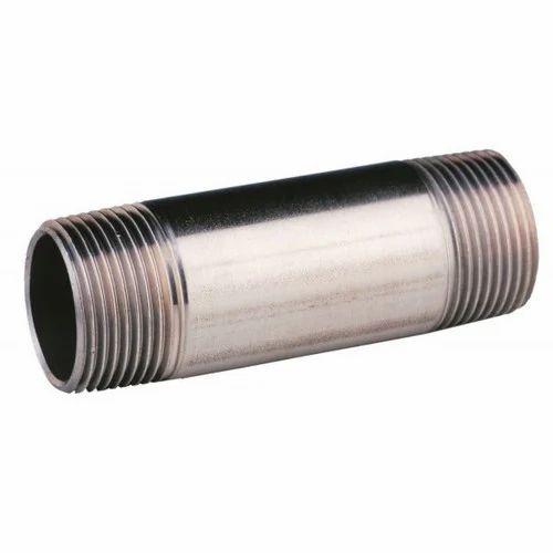 Butt weld pipe nipple, barrel nipple, butt weld pipe nipple exporter, barrel nipple suppliers