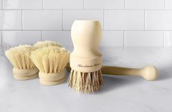 3 Natural Fibre Bristle Brushes