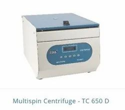 TC 650 D - Multispin Centrifuge