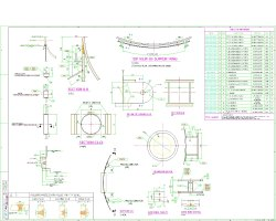 Drawings for Heat Exchanger Supports