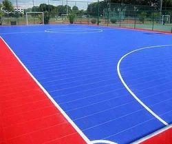 PP Tile Sports Flooring, 14 mm