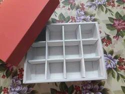 Non Brand Cardboard Folding Packing Chocolate Box, Packaging Type: Cartoon Packaging