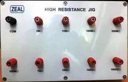 High Resistance Jig