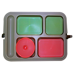 Hoffman Bewirtung India Plastic Insulated Lunch Box