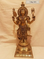 Brass Kartikeya 7.5kgs 18Inches by Swethamber Arts