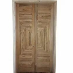Interior Finished Designer Wooden Door