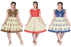 Jaipuri Short Dress