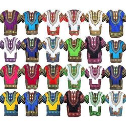 Cotton Casual Wear African Dashiki Shirts