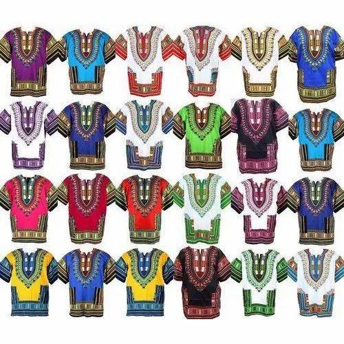 Cotton Casual Wear African Dashiki Shirts