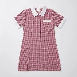 Girls School Cotton Uniform