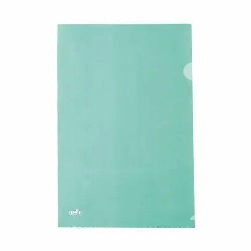 Plastic L Folder File, Paper Size: A4
